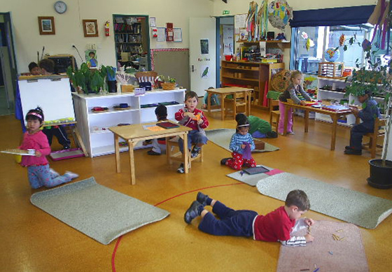 montessori approach to learning