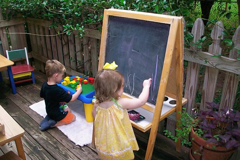 Outdoor Environment Montessori Tides School