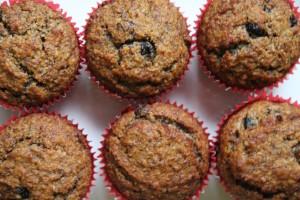 Raisin Honey Bran Muffin Recipe