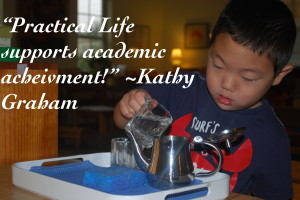 Montessori Tides Primary Curriculum: Practical Life