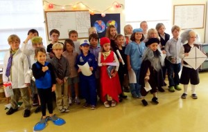 Historical Halloween at Montessori Tides