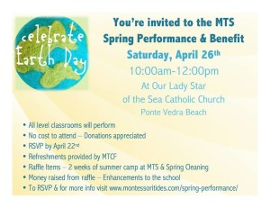 Join us for the Spring Performance and Benefit