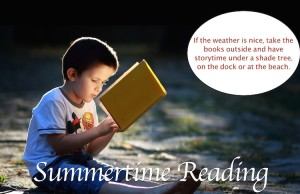 Summertime Reading for Children and Parents