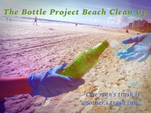 MTS Recycles Creatively With The Bottle Project