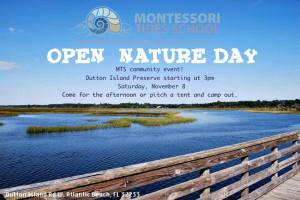 Are you Curious About Open Nature Day?