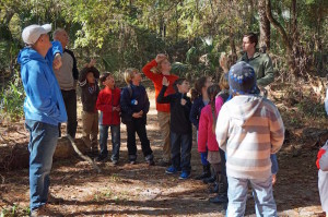 Montessori Tides visit Tree Hill Nature Center