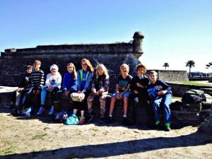Upper Elementary Visits St. Augustine