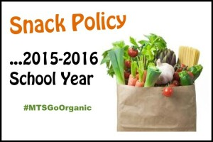 All Organic Snack Policy