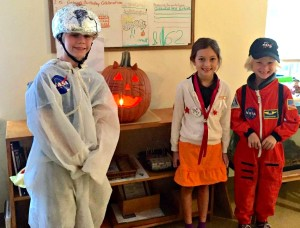 Historical Halloween at Montessori Tides School