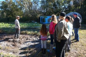 Upper Elementary Students Visit Down to Earth Farm