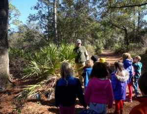 Lower Elementary Visits Crooked River State Park