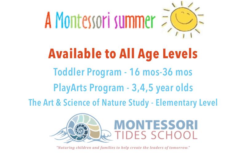 montessori summer camp programs